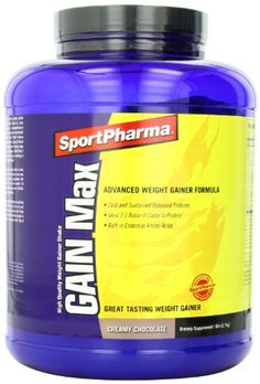 Sportpharma Gain Max Chocolate 6lb 65 Bottle * Visit the image link more details.