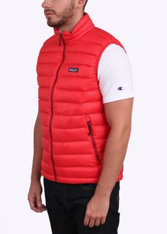 Patagonia Down Sweater Vest - French Red - Patagonia from Triads UK