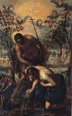 Tintoretto - Baptism of Christ - Google Art Project (Capitoline Museums)