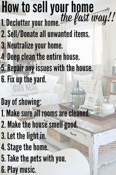 10 diy projects to sell your home faster