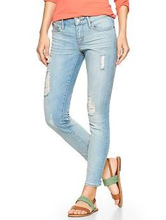 1969 destructed always skinny skimmer jeans...Love these jeans! They fit so well and mold perfectly to your body...♥