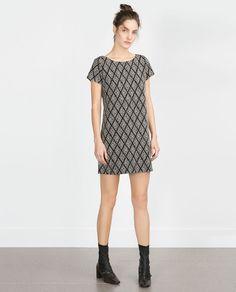 $50, A-LINE DRESS (to wear as a tunic) from Zara