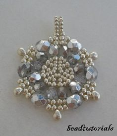 Jewelry+beading+tutorial++glass+and+seed+beaded+by+beadtutorials,+$6.90