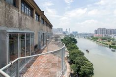 O-office Architects · Silo-top Studio. Liwan, China · Divisare