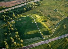 The lost city of Cahokia: Archaeologists uncover Native Americans' sprawling metropolis under St Louis