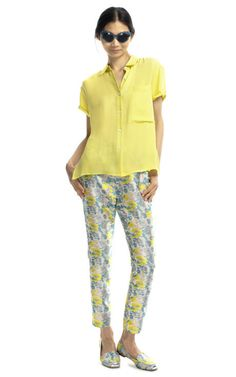 Head to toe color... Opening Ceremony Resort 2013
