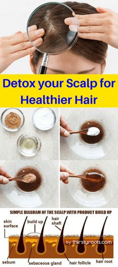 Detox your Scalp for Healthier Hair One way to ensure your hair grows long and healthy is to go a step further than shampooing by doing a scalp detox treatment. At times we forget that our scalp is living and breathing, and the hair strands are dead. Grow Long Hair, Grow Hair, Stevia, Health Remedies, Home Remedies, Natural Remedies, Cardio For Fat Loss, Healthy Exercise, Diet Exercise