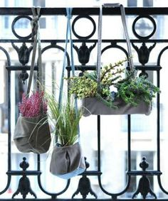 Whether indoors or out, wall-mounted or suspended, installing a vertical garden is a beautiful way to create an impactful space.  Having grown beyond a trend, today's vertical gardener has a host of products to make design, installation, and care worry-free.  We've rounded up our favorite planters, terrariums, frames, and plants, with an eye for easy maintenance and striking style.
