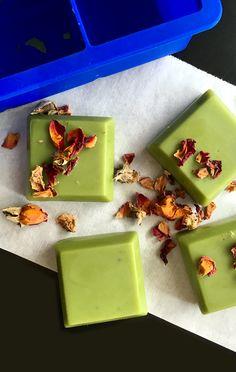DIY: matcha green tea butter bars