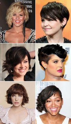 Toda vez que vou cortar o cabelo, passo séculos fuçando a internê em  busca de inspiração. De algum modelos que tenha tudo a ver com o que e...
