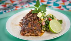 Mexican Pork Ribs with Grilled Corn Salsa | Good Chef Bad Chef