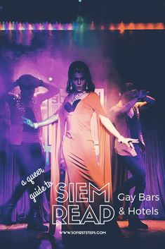 If you're looking for some queer adventure, you can find it in Siem Reap gay bars and hotels. In this article, I'll tell you all about how to navigate them. #SiemReap #GayBar #DragShow #Cambodia #AsiaTravel #GayTravel #SoloTravel