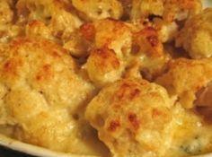 Glorious Baked Cheese Cauliflower