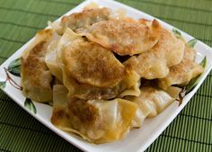 My friend Jen's Pot Stickers (Chinese Dumplings). This is one of the best recipes I've ever tried. We have made these so many times and Josh is requesting we make them today.