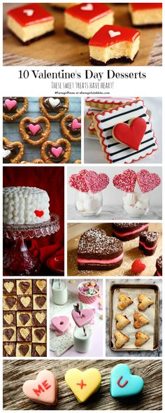 10 Valentine's Day Desserts. These sweet treats have heart! afarmgirlsdabbles.com