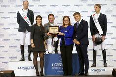 El jinete alemán Philipp Weishaupt voló para llevarse la victoria del $100,000 Longines Seep Challenge del CSI5* Longines Masters of Hong Kong.