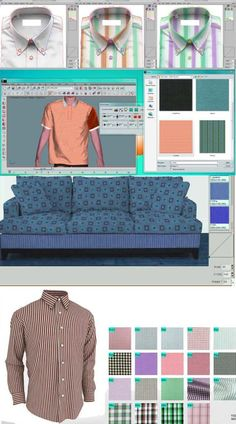 Mapping Software With this software, make realistic presentations of your seasonal collections in dynamic ways in a few clicks : just drag and drop your fabric designs on photographs. Mapping can be used for apparel, upholstery, or home furnishings markets. …