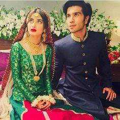 Pakistani actress sajal Ali and feroze khan Celebrity Faces, Celebrity Couples, Celebrity Pictures, Pakistani Bridal Hairstyles, Ceremony Dresses, Weeding Dresses, Bridal Dresses, Sajjal Ali, Feroz Khan