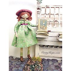 Verity Hope with her favourite book. I have to slightly disagree because I think Milly-Molly-Mandy is the absolute best but do agree that the illustrations in #josephineandherdolls are out of this world!  Anyone have a favourite vintage children's book? #vintageillustration #vintagechildrensbooks #dollshouse #verityhopesworld