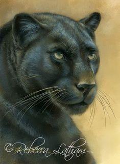 Rebecca Latham- Beautiful animal art.