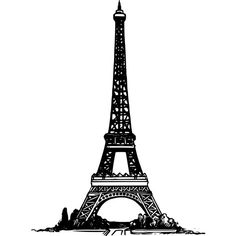 Simple Eiffel Tower ❤ liked on Polyvore featuring backgrounds