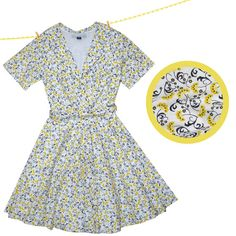 Tea Dress?! This would be so much better than pajamas for this stay at home mom :x