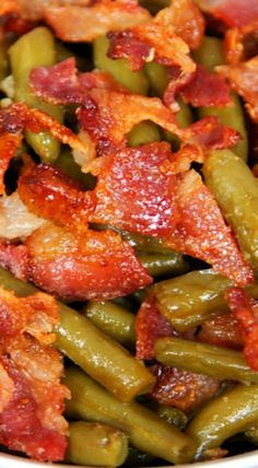 GREEN BEANS RECIPES on Pinterest | Green Beans, Green Beans With Bacon ...