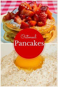 Nutrition Education Program's easy oatmeal pancakes