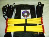 Speed Agility Ladder 34 Feet Long   Speed Drills Dvd, Football Training Equipment   Soccer Quick Foot Training Aid, Good for All Sports - http://plyometricboxes.net/speed-agility-ladder-34-feet-long-speed-drills-dvd-football-training-equipment-soccer-quick-foot-training-aid-good-for-all-sports/