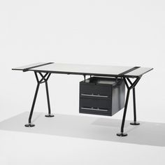 File under impossible. Try getting your hands on a Norman Foster designed Nomos desk. Architectural furniture.