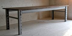 Wanna have. Industrial table 3000x1000