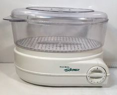 WEST BEND ELECTRIC FOOD STEAMER RICE COOKER MODEL 86600 FREE SHIPPING #WestBend