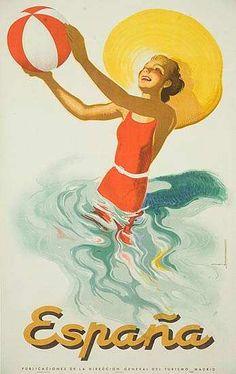 Vintage Poster Espana