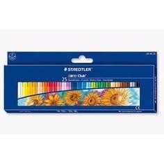 Staedtler - Noris Club - Giz De Cera Oil Pastels - 25 Cores - R$ 45,99 no MercadoLivre