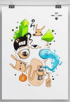 Digital Illustrations by OMASHONE