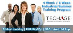 Importance of 6 Weeks Summer Training for B.Tech, MCA, BCA Students - TechAgeLabs