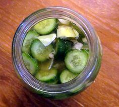 Easy Homemade Pickles!