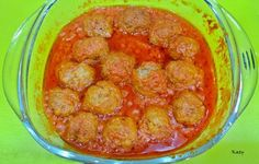 Albondiguillas en salsa de tomate