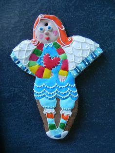 pierniczek, anioł, dekoracja