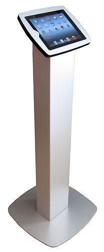 Exhibition Stand Kiosk : Ipad kiosk enclosure floor stand mount locking display