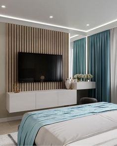 Read all you need to know about living room minimalist. Get inspired simple living room design, modern small living room, Minimalist interior design. Bedroom Bed Design, Modern Bedroom Design, Home Room Design, Home Decor Bedroom, Home Living Room, Home Interior Design, Master Bedroom, Bedroom Ideas, Living Room Tv Unit Designs