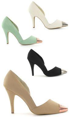 High heels metal tip