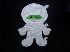Glow in the dark Mummy Halloween Shirt    Halloween is coming!!! Join in the fun with this super cute shirt! This design can be made for a BOY
