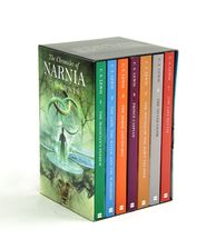 The Chronicles of Narnia by: C.S. Lewis--A family favorite, my husband still has in childhood set.                      Illustrated By: Pauline Baynes