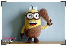 Minion Caveman - The Minions - Crochet Pattern - Amigurumi