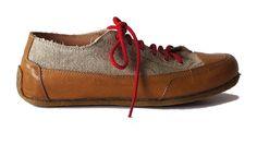 Paride summer shoes natural leather & organic linen