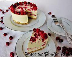 Cranberry Raspberry White Chocolate Cake