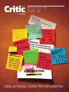 Critic Issue 10, 2015