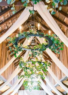 This garden lighting element adds the perfect touch of greenery to your wedding.