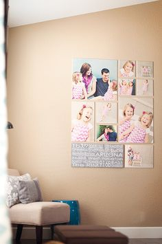 picture wall ideas Families are such an important part of our lives but having said that, it does not mean dealing with them is all that easy. However, if you take it from a purely a Canvas Collage, Photo Wall Collage, Photo Canvas, Picture Wall, Wall Canvas, Photo Wall Art, Photo Collages, Family Pictures On Wall, Wall Decor Pictures